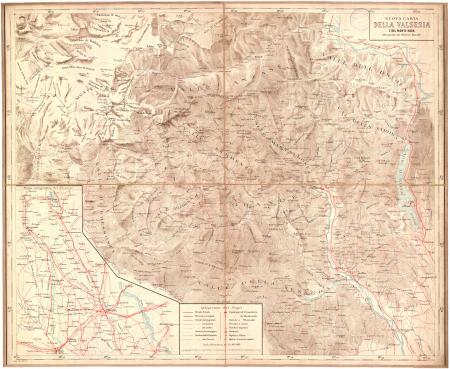 Nuova carta della Valsesia e del Monte Rosa