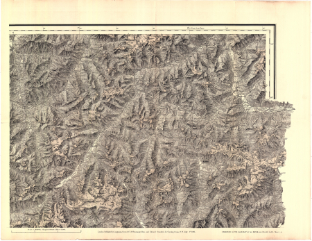 The enlarged Alpine club map of the Swiss & Italian Alps - [Foglio] 4