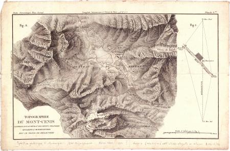 Planche 3:*Topographie du Mont-Cenis