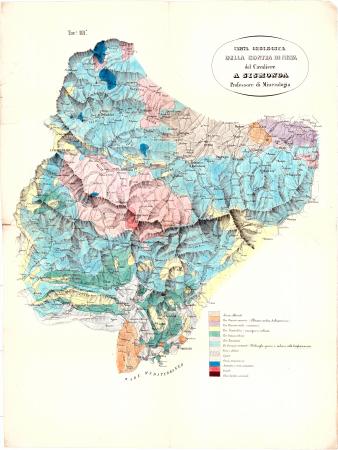 Carta geologica della Contea di Nizza : *Tav.a 3.