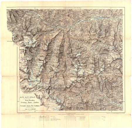 Alte Alpi Graje : Gran Paradiso, Levanna - Rutor_AEmilius, Ceresole - Aosta - Pré S.Didier