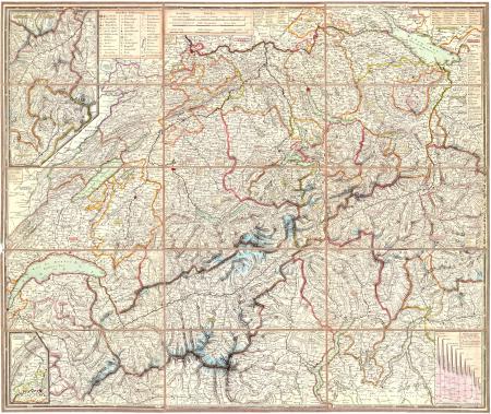 Keller's zweyte Reisekarte der Schweiz