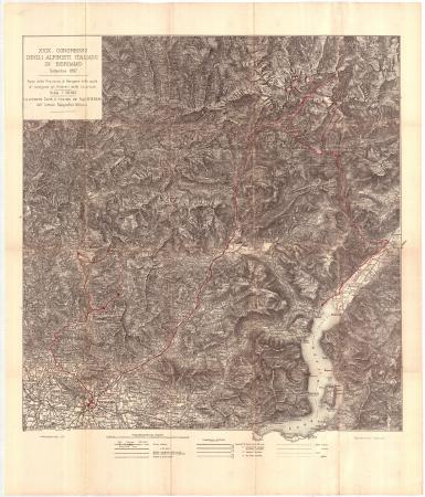 29. Congresso degli alpinisti italiani in Bergamo