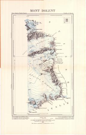 Mont Dolent : Feuilles n.° 10 et 15