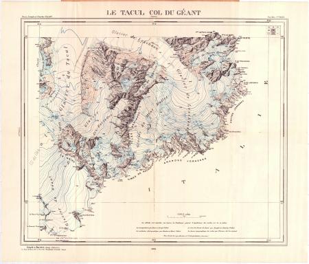 Le Tacul Col du Géant : Feuilles n.° 19,23