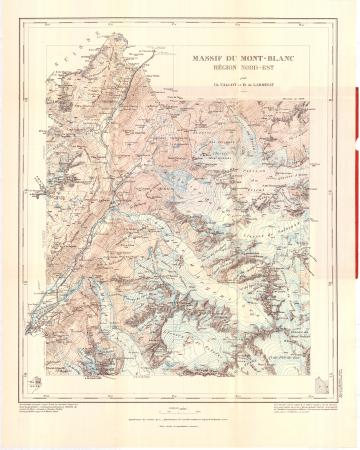 Région Nord-Est : [Chamonix, Vallorcine, Trient, M.t Dolent]