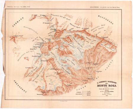 Il versante valsesiano del Monte Rosa