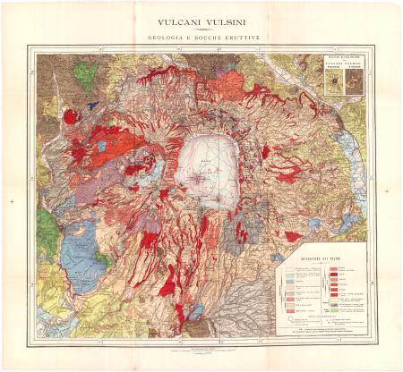 Vulcani Vulsini : geologia e bocche eruttive