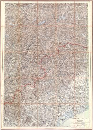 Carta al 200000 : [Tirolo meridionale e Italia di Nord-Est]