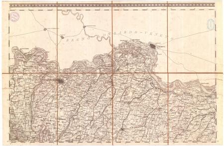 Carta topografica dei ducati di Parma, Piacenza e Guastalla. F.° 2