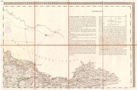 Carta topografica dei ducati di Parma, Piacenza e Guastalla. F.° 3