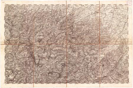 Carta topografica dei ducati di Parma, Piacenza e Guastalla. F.° 5