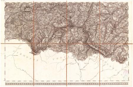 Carta topografica dei ducati di Parma, Piacenza e Guastalla. F.° 8