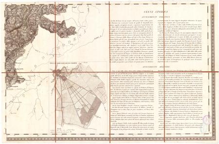 Carta topografica dei ducati di Parma, Piacenza e Guastalla. F.° 9