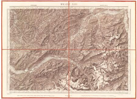 Blatt XIII: *Interlaken, Sarnen, Stans