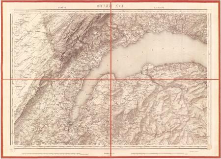 Blatt XVI: *Genève, Lausanne
