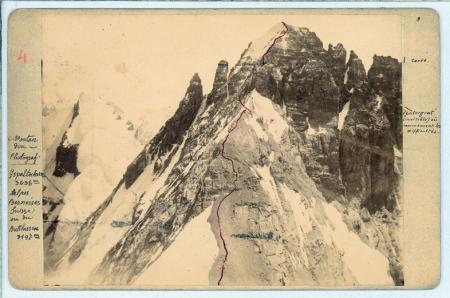 [Riprese varie del Massiccio del Monte Bianco, Dent Blanche, Gspaltenhorn]