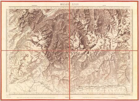 Blatt XXII: *Martigny, Aoste