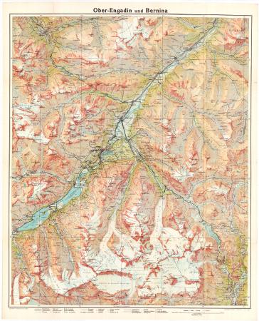 Ober-Engadin und Bernina