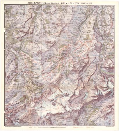 Adelboden : Berner Oberland, 1356 m ü. M. : exkursionen