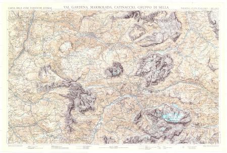 Val Gardena, Marmolada, Catinaccio, Gruppo di Sella
