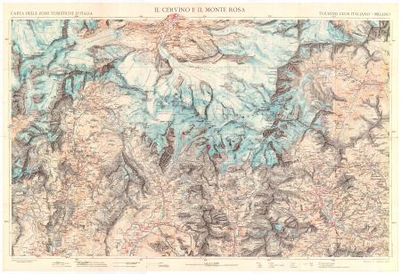 Il Cervino e il Monte Rosa