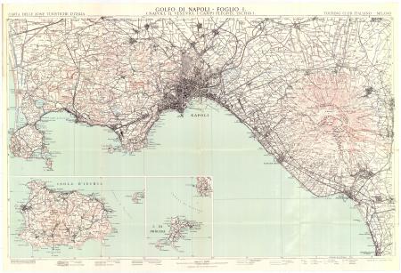 Foglio 1: *Napoli, il Vesuvio, i Campi Flegrei, Ischia