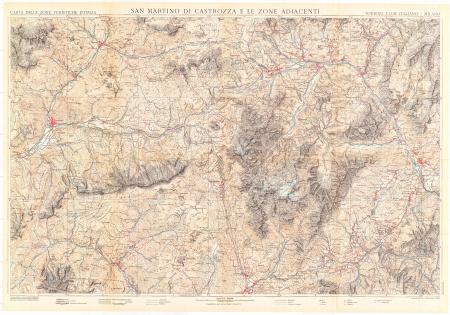 San Martino di Castrozza e le zone adiacenti
