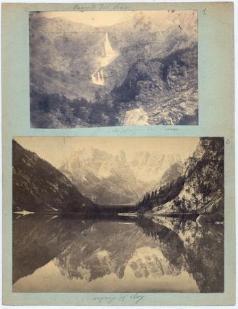 Lago di Landro, Cascata del Serio