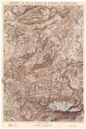 Gruppo di Sella, Passo di Pordoi, Marmolada