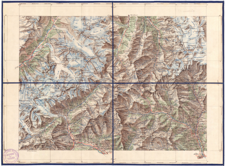 Feuille XXVI-25: [*Mont Blanc]