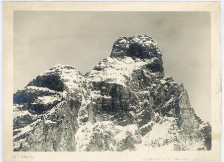 [Riprese varie di Monte Bianco e Cervino]