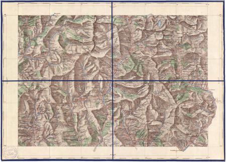 Feuille XXV-32: [*Colmars-les-Alpes]