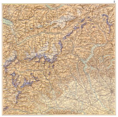 Atlante dei ghiacciai italiani : carta corografica : parte prima. 2