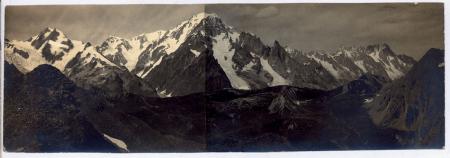 Catena del Monte Bianco dal M.te Ouille (La Thuile)