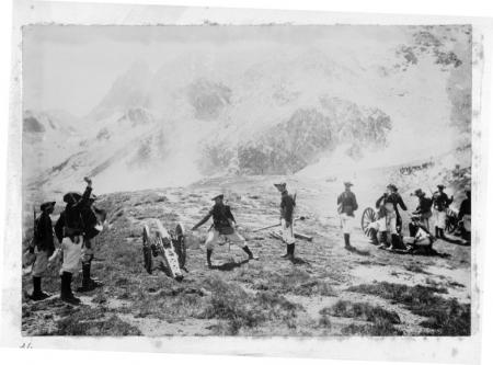 Manœvres Alpines du 5 Groupe