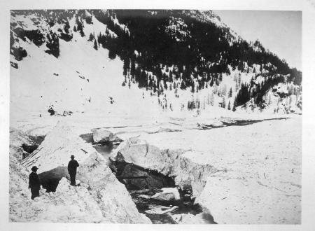 Avalanche de Brévières (Savoie)