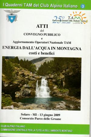 Energia dall'acqua in montagna