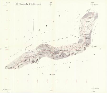 20: *Bocchetta di S. Bernardo