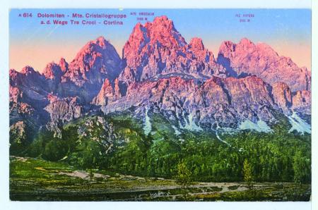 m614 Dolomiten - M.te Cristallogruppe - a.d. Wege Tre Croci - Cortina