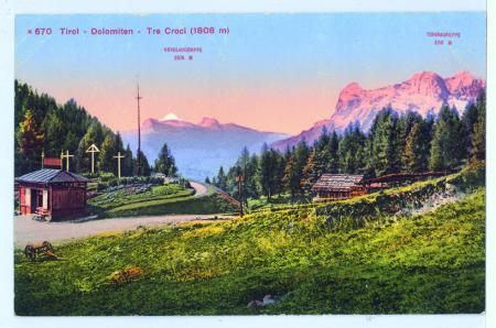 m670 Tirol - Dolomiten - Tre Croci (1808 m)