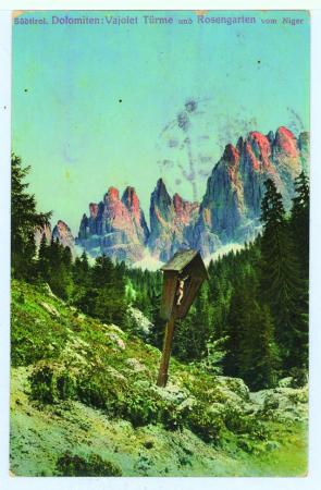 Südtirol. Dolomiten: Vajolet Türme und Rosengarten vom Niger