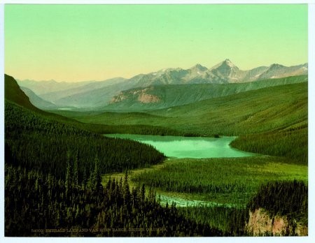 54002 Emerald lake and Van Horn Range, British Columbia