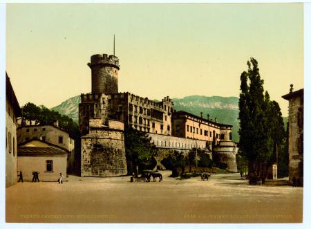 9346 Trento. Castello del Buon Consiglio. Trient. Schloss Buon Consiglio