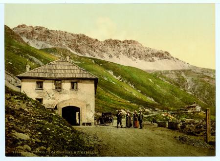 9389 Stelvio. III. Cantoniera mit Kapelle