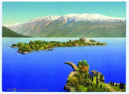 17370 Lago di Garda. Isola di Garda