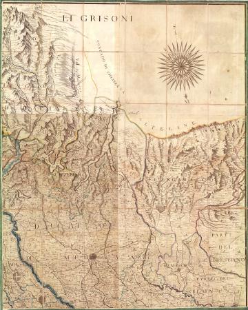 Carta corografica degli Stati di S.M. il Re di Sardegna. [3]