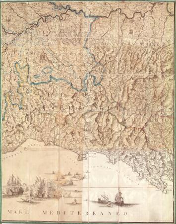 Carta corografica degli Stati di S.M. il Re di Sardegna. [6[