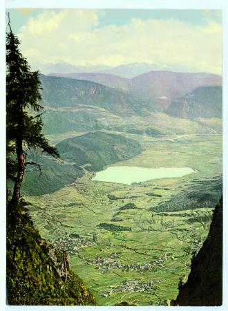 18080 Tirol. Penegal gegen den Kalterersee