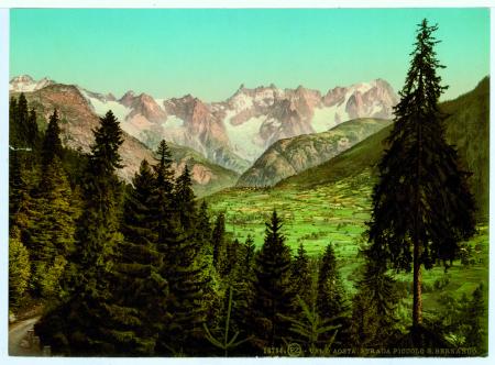 18784 Val d'Aosta. Strada Piccolo S. Bernardo